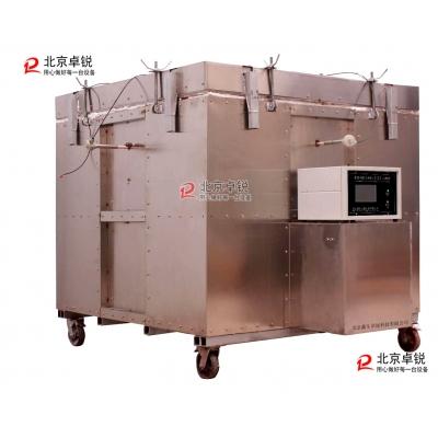 新标准GJL-18型钢结构防火涂料隔热效率及耐火极限试验炉批量运用